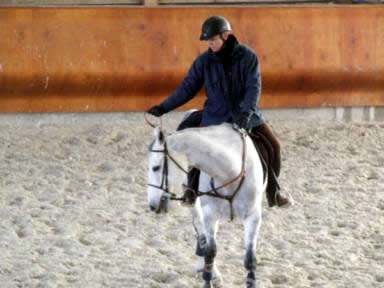 Janvier 2011 avec Ivan Scherer aux écuries de Poissac
