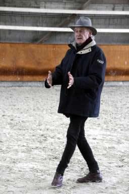 Février 2011 avec le Dr P.Pradier aux écuries de Poissac