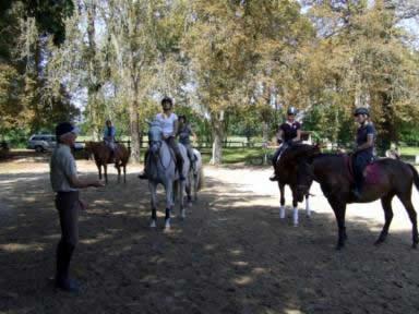 Septembre 2011 avec Ivan Scherer aux écuries du Grand Parc à Barjouville