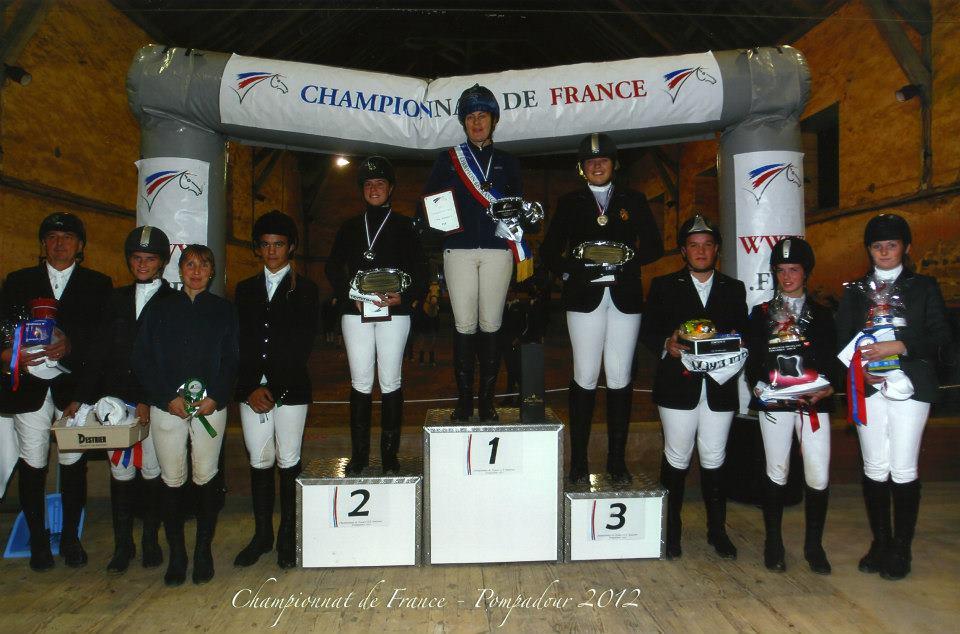 Coaching aux Championnats de France CCE de Fontainebleau